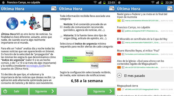 Ultima Hora - Android