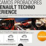 Buscamos probadores en Renault Techno Experience